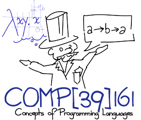 COMP[39]161 Concepts of Programming Languages