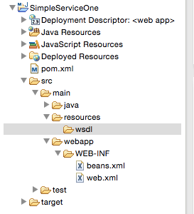 Developing simple Web services with Apache CXF and Maven