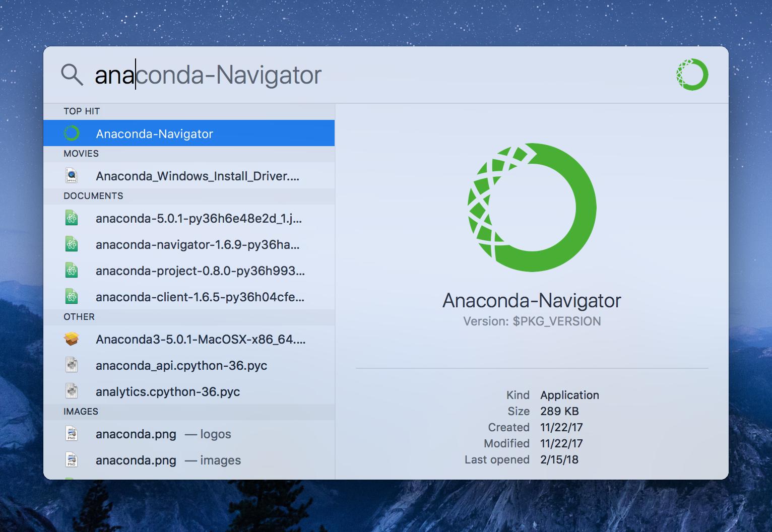 telecharger anaconda 2